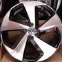 Roda 18 Golf Gti Preta Diamantada 5x112 Polo Crossfox Jetta