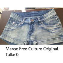 Short De Jeans De Dama Tallas S Y M Precio Remate