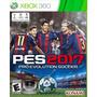 Pes 2017 Xbox 360 Fisico Nuevo Sellado / El Mejor Precio