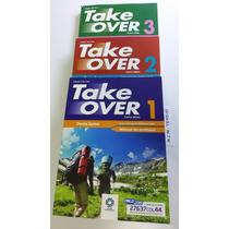 3 Livros Inglês Take Over + 3 Livros Inglês Alive High