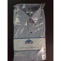 Camisa Militar Dscp Quarterdeck Collection Navy