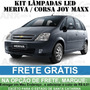 Kit Lampadas Led Meriva / Corsa Joy Maxx