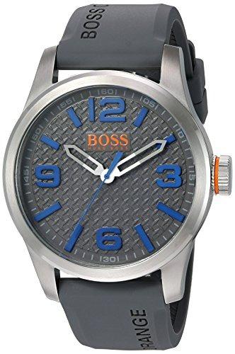 8d6d75138266 Reloj Hugo Boss Para Hombre 1513349 Color Gris Correa De -   528.550 en  Mercado Libre