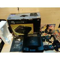 Neo Geo Cd Na Caixa Ultra Raro