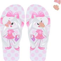 Chinelo Lilica Botons 10106251 Pink - Pink - 25/26