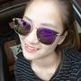 Óculos De Sol Espelhado Feminina Coleção Novo Proteção 400uv