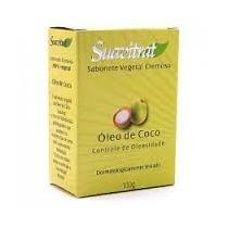 Sabonete Óleo De Coco Natural 100gr - Kit 10 Unidades