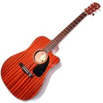Fender Cd-60ce All Mahogany Electroacústica Estuche - Cuotas