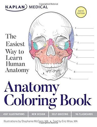 Libro De Colorear De Anatomía - $ 929.77 en Mercado Libre