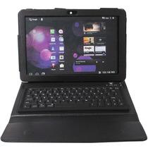 Capa Case Teclado Bluetooth 10.1 Tablet Samsung Galaxy Tab 2