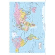 Mapa Del Mundo Cartel - French Room Inicio Diseño De Papel
