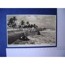 Cartao Postal - Praia De Iracema Em Fortaleza / Ceara