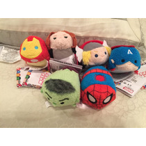 Tsum Tsum Mini Avengers 6 Piezas Disney Store Original