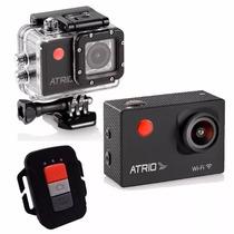 Câmera Ação 1080p Wifi Controle Remoto Atrio Dc184 Gopro