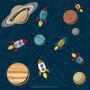 Espacial Espacio Astronomia Nave Espacial Planetas difusor personalizado 50 cc 100 cc