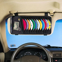 Porta Cd Carro Quebra Sol 12 Cds Compre 1 Leve 2 Frete Gráti