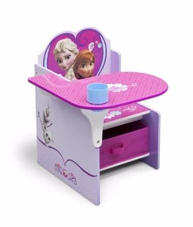 Escritorio Pupitre Infantil Disney Frozen Niña Silla