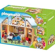 Playmobil 5418 Cofre Establo De Caballos Metepec Toluca