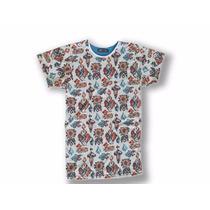 Fresca Camiseta Franela Tapiz Polvo Moda Masculina Actual