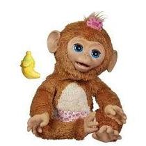 Fur Real Friends Giggly Macaca Mika - Hasbro - Frete Gratis