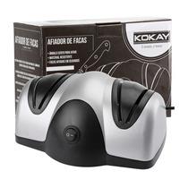 Kit 8 Amolador Afiador Elétrico De Facas De Cozinha Kokay