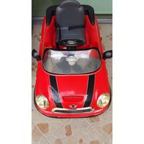 Carro Electrico Mini Cooper Para Niños Bateria Recargable.