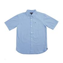 Camisa Social Infantil Masculina Tommy Hilfiger Holiday