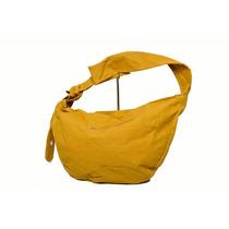 Cartera De Tela Bellagio Bags Color Mostaza