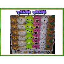 Tsum Tsum Disney Bambi, Doc, Alien, Lotso, Olaf Y Gus Lote3