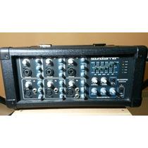 Consola Amplificada Sound Barrier 6 Canales Sb63510pmx Nueva