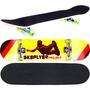 Skate Semi Profissional Completo Rodas Abec7 Vai Montado