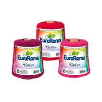 Barbante Colorido Ou Cru 600g Barbante Euroroma