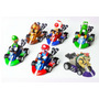 Mario Kart Racing - Carros De Fricción Mario Bros Carro