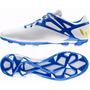 Botines Adidas Messi 15.3 Fg Ag Core White / Blue Talle 39,5