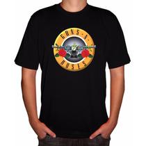 Camisa Rock Gnr Guns N Roses V Camisa