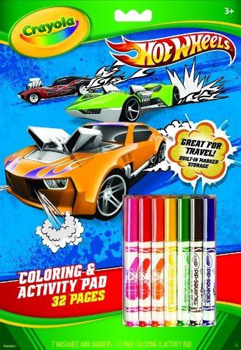 Crayola Wheels Hot Colorear Y Libro De Actividades Con Marc ...