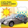 Capa Protetora Carro Impermeável Uv Forro Frete Grátis P M G