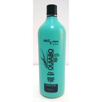 Escova Mega Gloss Quiabo Maxxy Lizz +(kit Manicure De Brinde