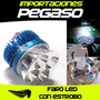 Luz De Faro Led Con Estrobo Para Moto S/59 Pegaso