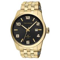 Relógio Technos 2315yj/4p 2315yj 4p Aço Folhado Ouro Golf