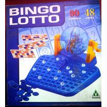 Juego De Bingo Tombola Con 48 Carton Plastico Lotto