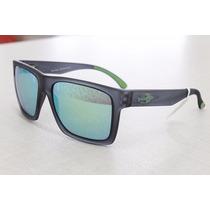 Oculos De Sol Mormaii San Diego Verde Espelhado Original