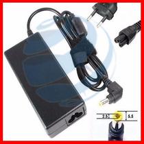 Fonte Carregador Notebook Toshiba 19v 3,42a 65w + Cabo