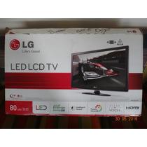 Televisor Led Lcd Tv Marca Lg 80 Cm 32