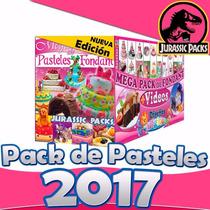 Mega Pack De Recetas Para Pasteles De Fondant, Decorados