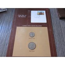 Set Monedas Turks And Caicos Islands 1981