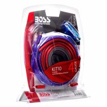 Kit De Cables Boss Audio Systems 4 Gauges Para Potencias
