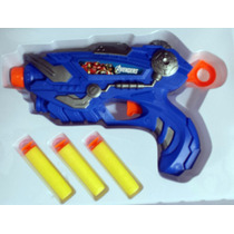 Pistola Atira Dardos Nerf Vingadores Homem Aranha Dragon Bal