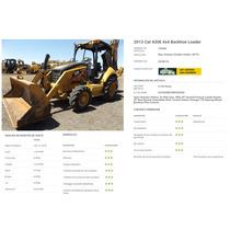 Caterpillar 430e Mod 2013 4x4 Brazo Extensible 2145 Horas