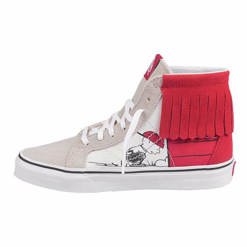 Tênis Vans Skate Surf Vermelho Snoopy Charlie Brown Feminino - R  450 9f20ef2ff8d